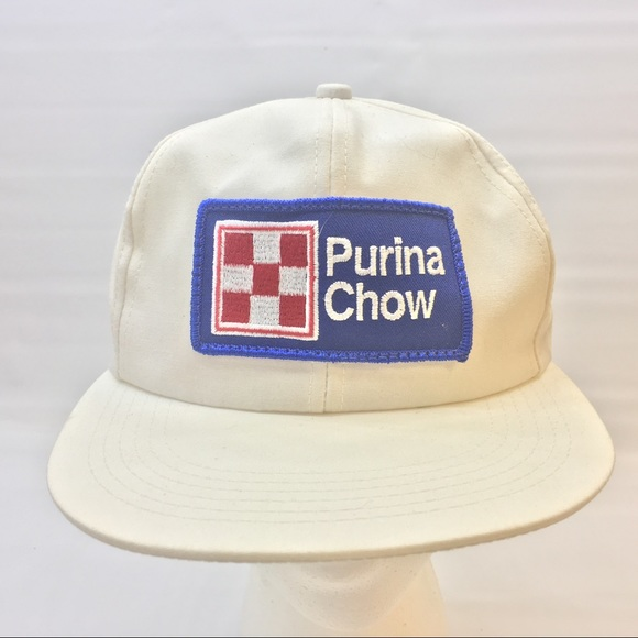 14482285ad3 K Products Other - Vintage Purina Chow Trucker Mesh Snap Back USA